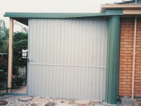 End of Patio - Side Roll Garage Roller Doors